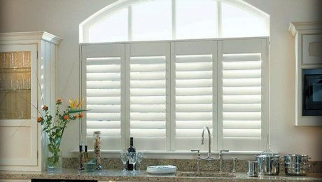 kitchen plantation shutters liberty