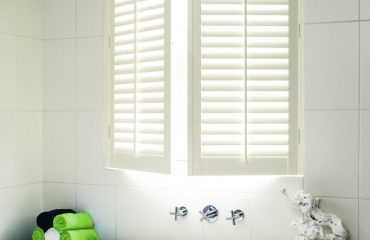 Plantation shutters in Bathrooms