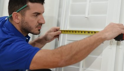 how to measure shutters- Liberty Shutters