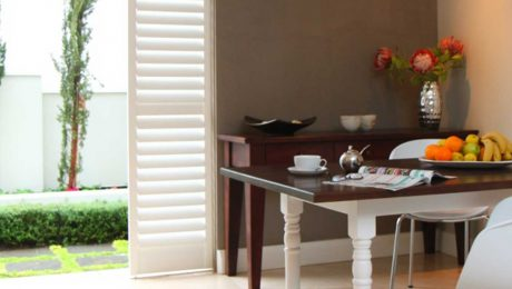 Plantation Shutters Study Area Eco Friendly