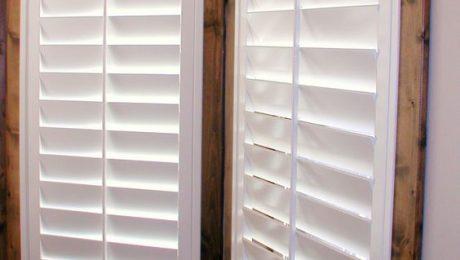 plantation shutters dark