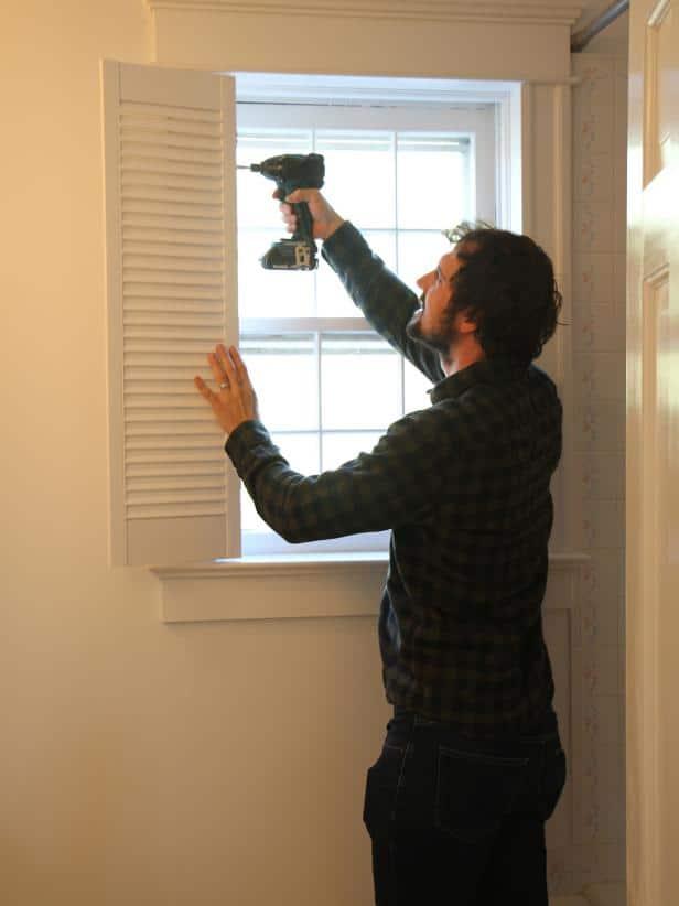 installing plantation shutters